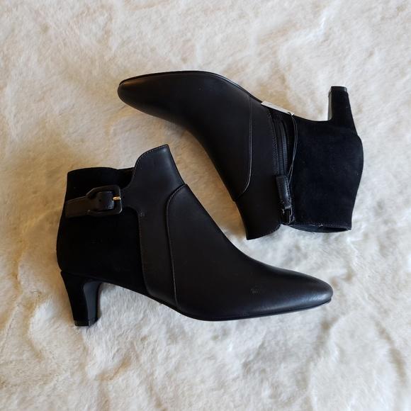 Cole Haan Shoes | Black Sylvia Bootie